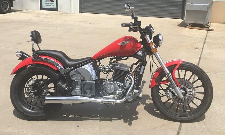Hunter Daytona Motorcycle
